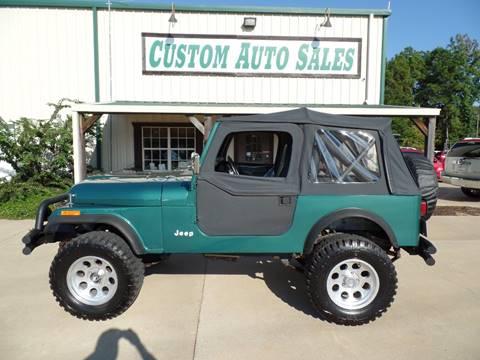 1981 Jeep CJ-7 for sale in Longview, TX