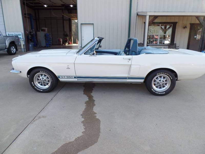 1967 Ford Mustang Shelby GT350 Clone In Longview TX - Custom Auto Sales