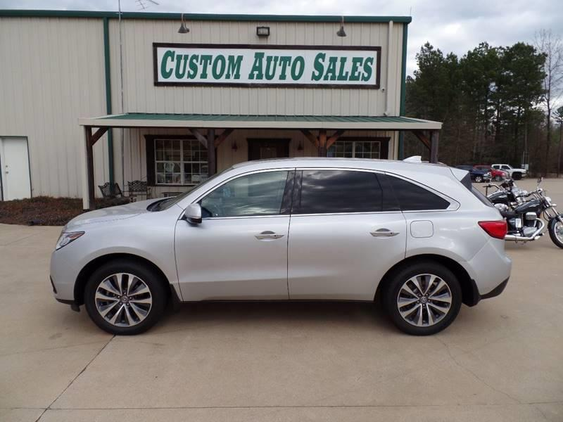 2014 acura mdx 4dr suv w technology package in longview tx custom