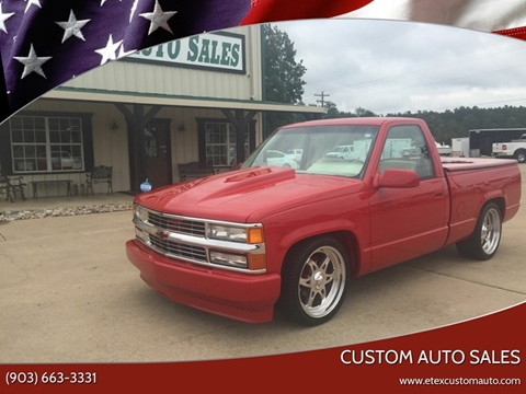 1992 Chevrolet C/K 1500 Series for sale at Custom Auto Sales - AUTOS in Longview TX