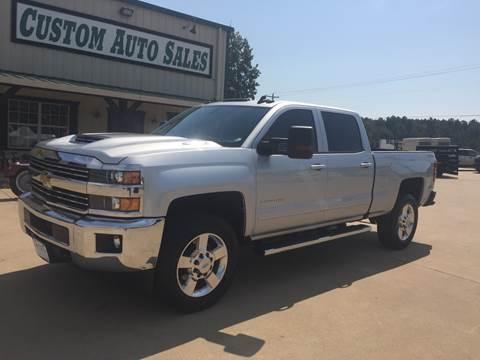 2017 Chevrolet Silverado 2500HD for sale in Longview, TX