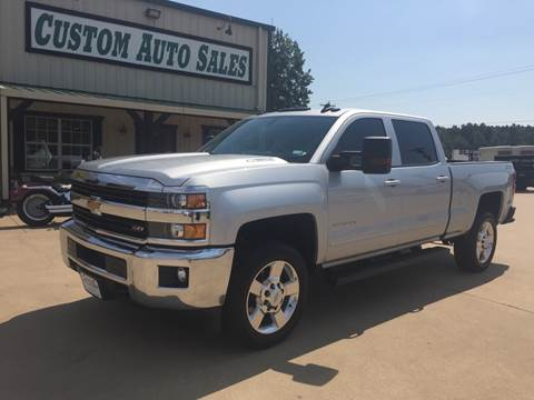 2016 Chevrolet Silverado 2500HD for sale in Longview, TX