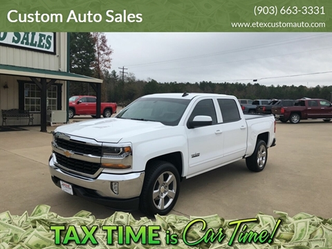 Custom Auto Sales >> Custom Auto Sales Car Dealer In Longview Tx
