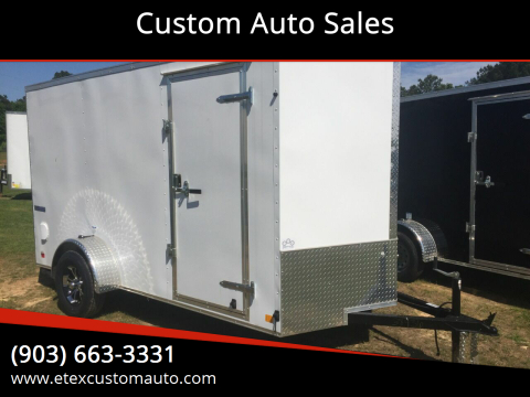 2021 Continental Cargo 6x12 Single Axle for sale at Custom Auto Sales - TRAILERS in Longview TX