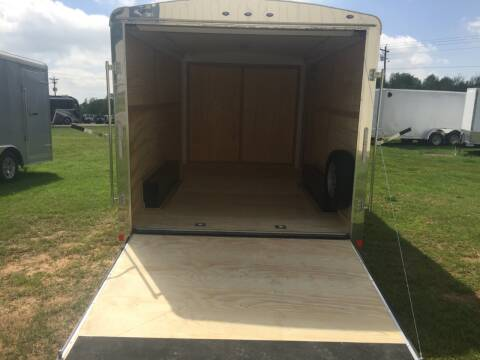 2021 Continental Cargo 8.5x14 Tandem Flat Front