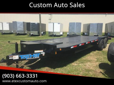 2020 Top Hat 8.5x26 Car Hauler for sale at Custom Auto Sales - TRAILERS in Longview TX