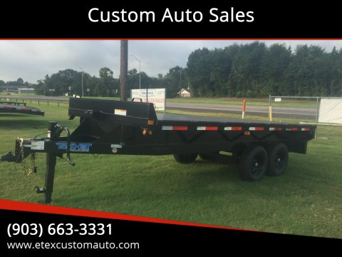 2020 Top Hat 8.5x16 Platform Trailer for sale at Custom Auto Sales - TRAILERS in Longview TX
