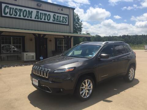2014 Jeep Cherokee Limited for sale at Custom Auto Sales - AUTOS in Longview TX