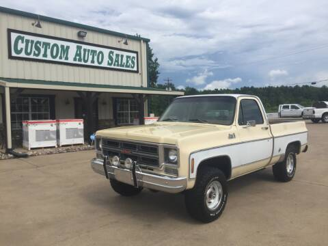 1976 GMC C/K 1500 Series for sale at Custom Auto Sales - AUTOS in Longview TX