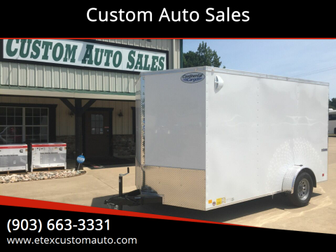 2021 Continental Cargo 7x12 Single Axle for sale at Custom Auto Sales - TRAILERS in Longview TX
