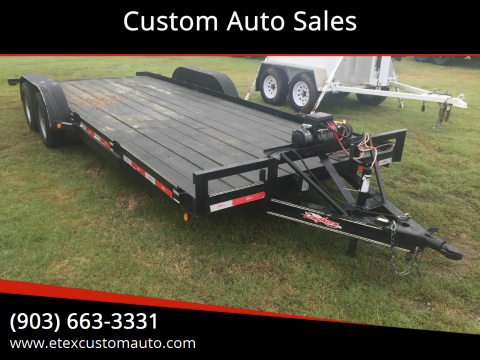 2017 Longhorn 7x20 Utility Trailer for sale at Custom Auto Sales - TRAILERS in Longview TX