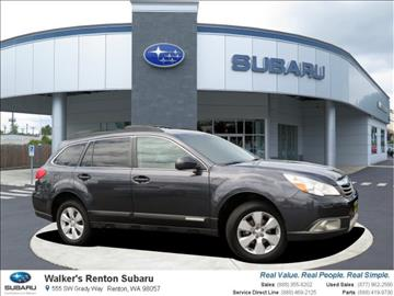 2011 Subaru Outback for sale in Renton, WA