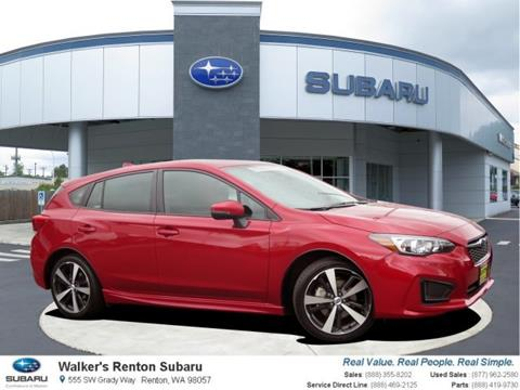 2017 Subaru Impreza for sale in Renton WA