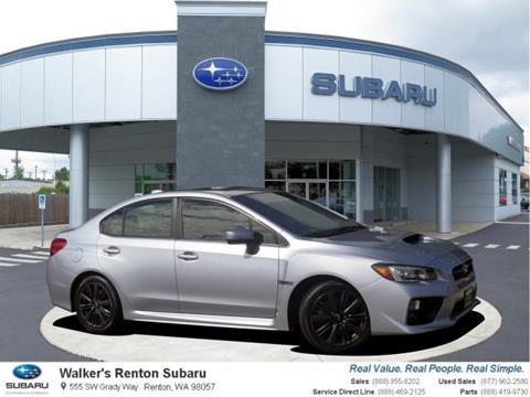 2015 Subaru WRX for sale in Renton WA