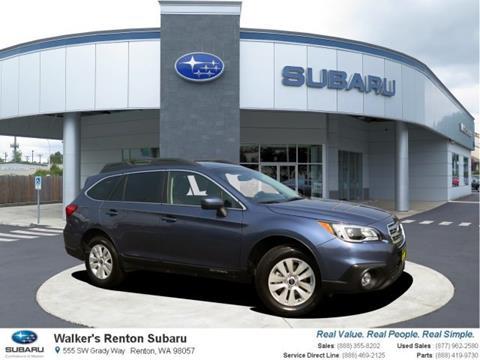 2017 Subaru Outback for sale in Renton WA