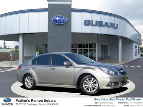 2014 Subaru Legacy for sale in Renton WA