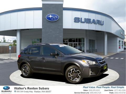 2017 Subaru Crosstrek for sale in Renton, WA