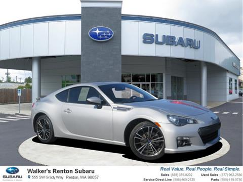 2013 Subaru BRZ for sale in Renton, WA
