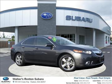 2013 Acura TSX for sale in Renton, WA