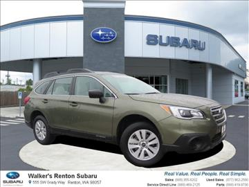 2017 Subaru Outback for sale in Renton, WA