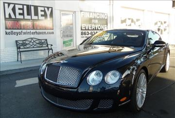 2010 Bentley Continental GT Speed for sale in Auburndale, FL