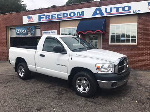 2007 Dodge Ram Pickup 1500 for sale in Wilkesboro, NC