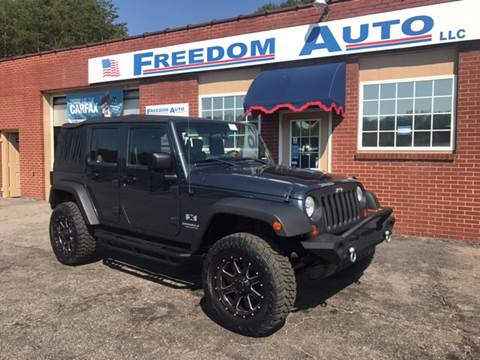 2007 Jeep Wrangler Unlimited for sale in Wilkesboro, NC