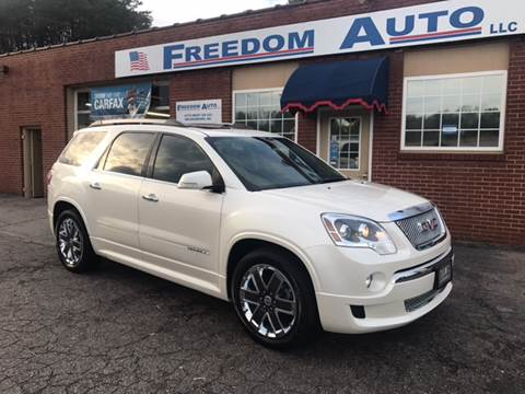 2011 GMC Acadia for sale in Wilkesboro, NC
