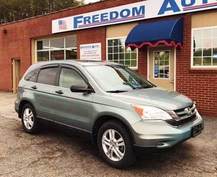2010 Honda CR-V for sale at FREEDOM AUTO LLC in Wilkesboro NC
