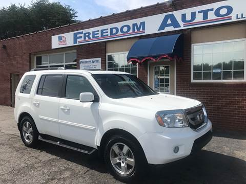 2011 Honda Pilot for sale at FREEDOM AUTO LLC in Wilkesboro NC