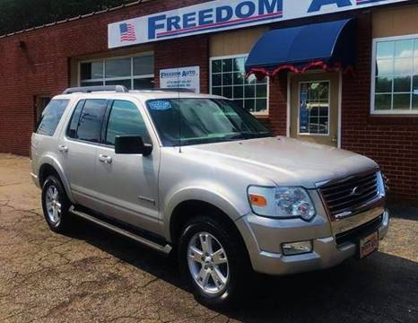2007 Ford Explorer for sale at FREEDOM AUTO LLC in Wilkesboro NC
