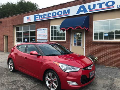 2013 Hyundai Veloster for sale at FREEDOM AUTO LLC in Wilkesboro NC