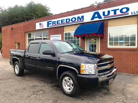 2010 Chevrolet Silverado 1500 for sale at FREEDOM AUTO LLC in Wilkesboro NC