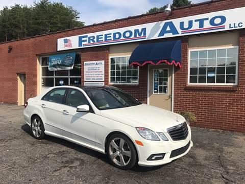 2011 Mercedes-Benz E-Class for sale at FREEDOM AUTO LLC in Wilkesboro NC