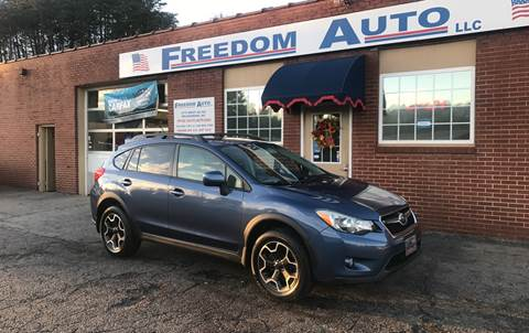 2013 Subaru XV Crosstrek for sale at FREEDOM AUTO LLC in Wilkesboro NC