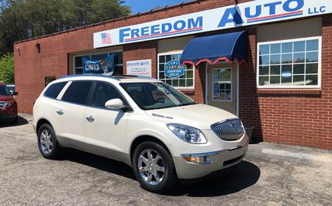 2010 Buick Enclave for sale at FREEDOM AUTO LLC in Wilkesboro NC