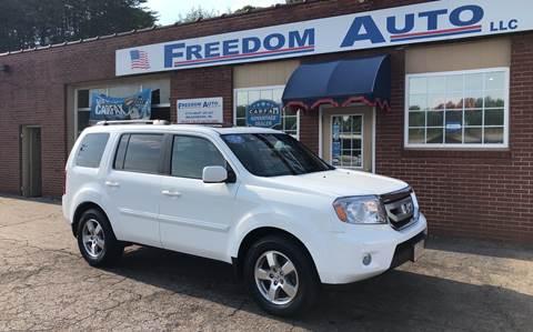 2011 Honda Pilot for sale at FREEDOM AUTO LLC in Wilkesboro NC