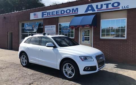 2016 Audi Q5 for sale at FREEDOM AUTO LLC in Wilkesboro NC