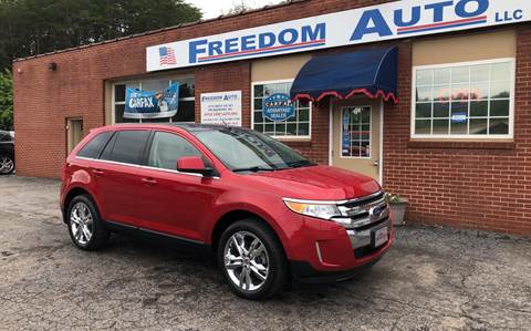 2011 Ford Edge for sale at FREEDOM AUTO LLC in Wilkesboro NC