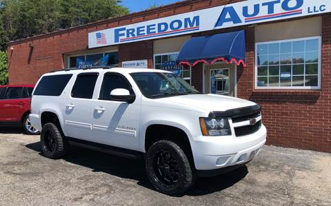 2011 Chevrolet Suburban for sale at FREEDOM AUTO LLC in Wilkesboro NC