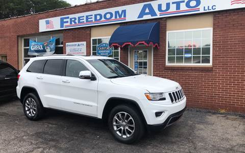 2015 Jeep Grand Cherokee for sale at FREEDOM AUTO LLC in Wilkesboro NC