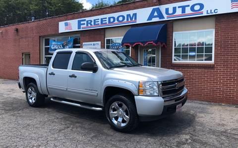 2010 Chevrolet Silverado 1500 for sale at FREEDOM AUTO LLC in Wilkesboro NC