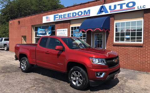 2016 Chevrolet Colorado for sale at FREEDOM AUTO LLC in Wilkesboro NC