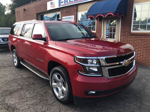 2015 Chevrolet Suburban for sale at FREEDOM AUTO LLC in Wilkesboro NC