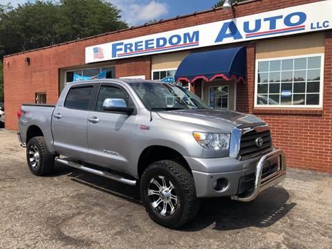 2008 Toyota Tundra for sale at FREEDOM AUTO LLC in Wilkesboro NC