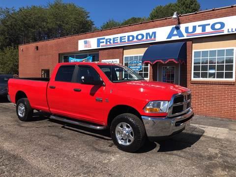 2010 Dodge Ram Pickup 2500 for sale at FREEDOM AUTO LLC in Wilkesboro NC