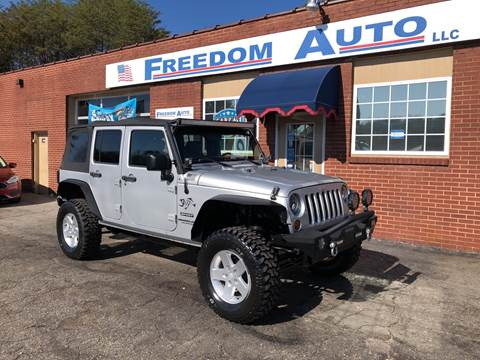2010 Jeep Wrangler Unlimited for sale in Wilkesboro, NC