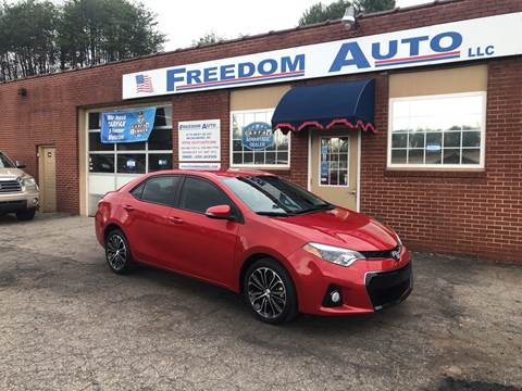 2016 Toyota Corolla for sale at FREEDOM AUTO LLC in Wilkesboro NC