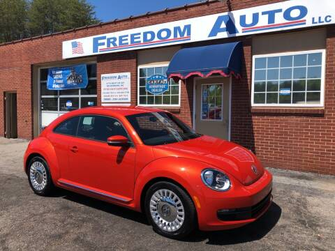 2016 Volkswagen Beetle for sale at FREEDOM AUTO LLC in Wilkesboro NC
