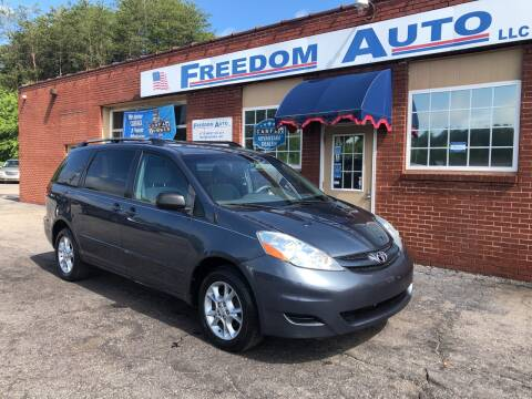 2006 Toyota Sienna for sale at FREEDOM AUTO LLC in Wilkesboro NC